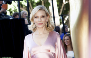 CATE BLANCHETT ARRIVES ON GOLD COAST