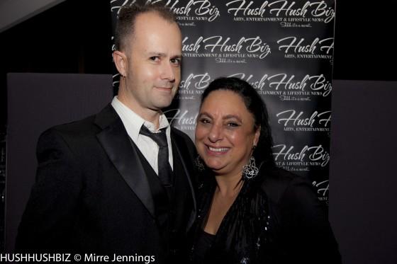 Nicholas Van Horton and Caroline Russo