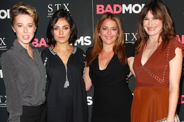 MARTHA STEWART AND MILA KUNIS STEP OUT FOR 'BAD MOMS'