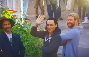 THOR AND LOKI READY FOR STAGE FILMING IN  BRISBANE