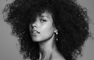 ALICIA KEYS ARRIVES HERE ON NOVEMBER 4