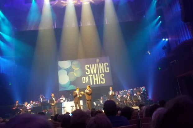 STANDING OVATION GIVES THE THUMBS UP ON  :SWING ON THIS