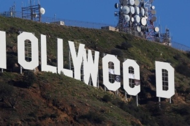 FAMOUS SIGN IN LA IS NOW HOLLYWEED