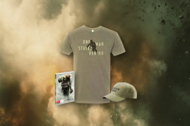 GIVE AWAY HACKSAW RIDGE PRIZE PACK AND DVD