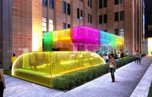 CIRCULAR QUAY TO GET A POP OF COLOUR FOR MCA'S SUMMER BAR 'COLOUR FIELDS'