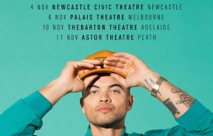GUY SEBASTIAN 'HIGH ON ME' ALBUM AND TOUR DATES