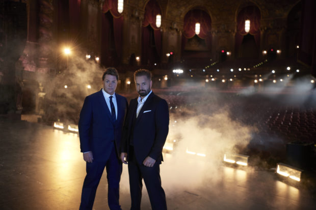 MICHAEL BALL AND ALFIE BOE ARRIVE IN AUSTRALIA NEXT WEEK, TOGETHER