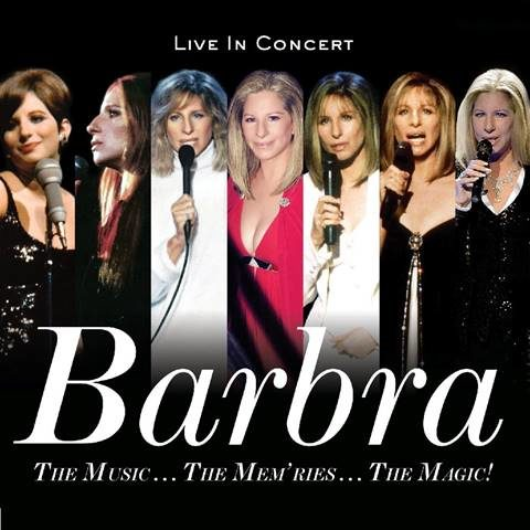 BARBRA STREISAND TO RELEASE CONCERT ALBUM DECEMBER 8th