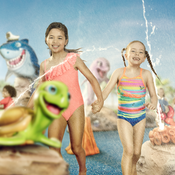 Splash into Summer at Sea World's 'The Reef at Castaway Bay'