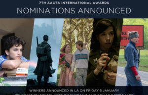 AACTA  Announces  Nominees  7th AACTA International Awards