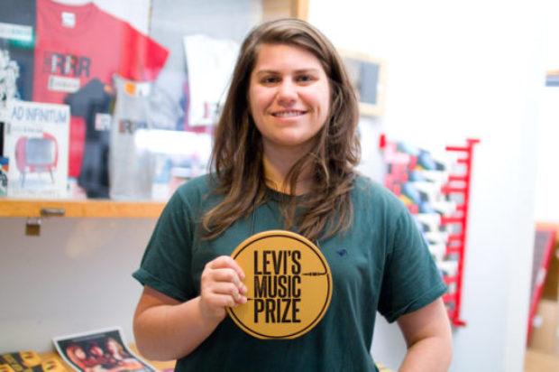 ALEX LAHEY WINS $25K LEVI'S® MUSIC PRIZE