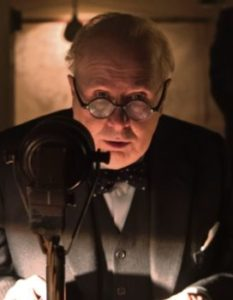 GARY OLDMAN MAKE UP ROOM FOR  WINSTON CHURCHILL