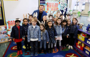 Peter Rabbit Helps Bring Awareness to Children's Literacy