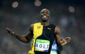 USAIN BOLT ON Gold Coast