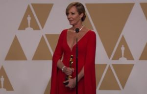 Allison Janney Backstage Praises Margot Robbie