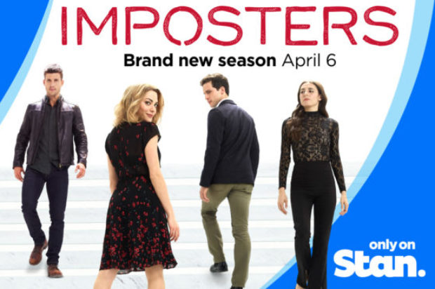 STAN'S BREAKOUT HIT IMPOSTERS RETURNS TOMORROW, SAME DAY AS U.S.