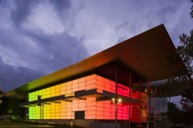 Major James Turrell light installation goes live at GOMA