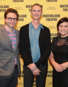Brisbane writer David Megarrity WINS the Queensland Premier's Drama Award 2018...