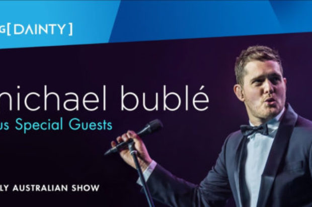 MICHAEL BUBLE IS BACK ON TOUR