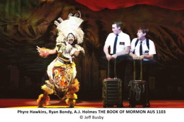 THE SHOW THAT JUST SELLING OUT… THE MORMONS ARE COMING