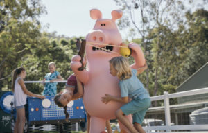 Shaun the Sheep has flocked to Paradise Country