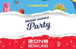 TIMEZONE & ZONE BOWLING OPENING UP IN WESTFIELD GARDEN CITY