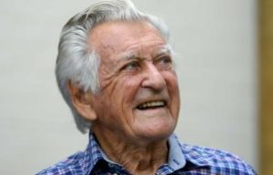 BOB HAWKE  FAREWELLS  AT 89