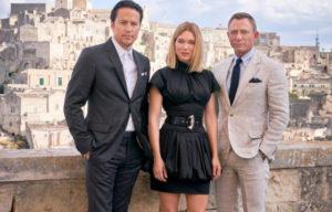 BOND FILM ON LOCATION IN ITALY