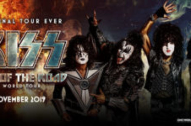 KISS TO SAY FAREWELL TO OZ TOUR TO KICK OFF