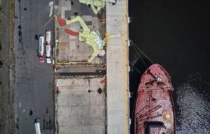 Australian first in large-scale public art.