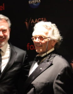 HIGHLIGHTS OF AACTAS SOCIAL PICS AND SAM NEIL TALKS ON HIS AWARD