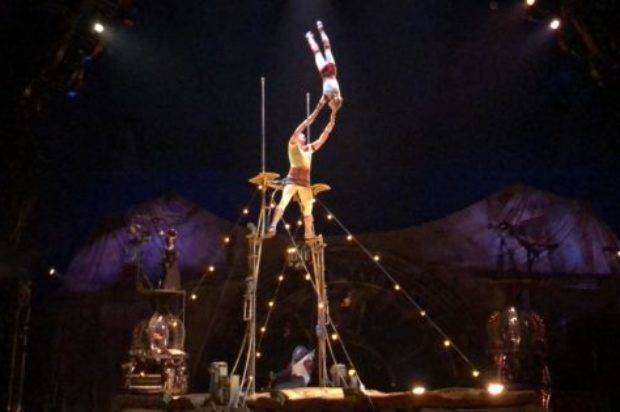 ONE TO ONE  JOE DARKE AND SOPHIE GUAY ON KURIOS CIRQUE DU SOLEIL