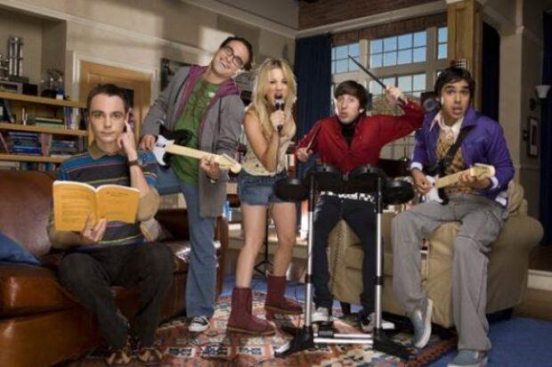The Big Bang Theory Starts Monday, 14 September At 8pm On 10 Peach.