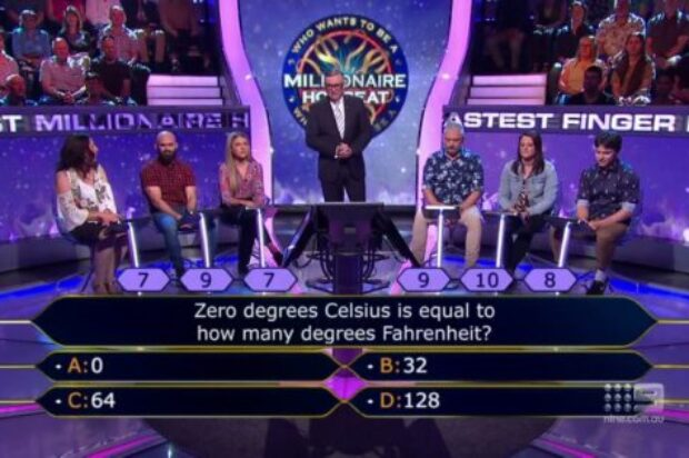 WHO WANTS TO BE MILLIONAIRE QUEENSLAND