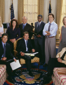 BINGE ON WITH THE FULL BOX SET OF …THE WEST WING ON BINGE