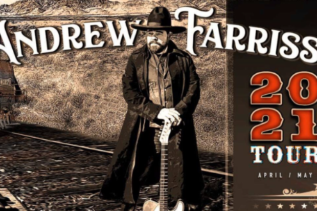 SONGWRITER ANDREW FARRISS ANNOUNCES STRING OF INTIMATE TOUR DATES IN APRIL & MAY 2021