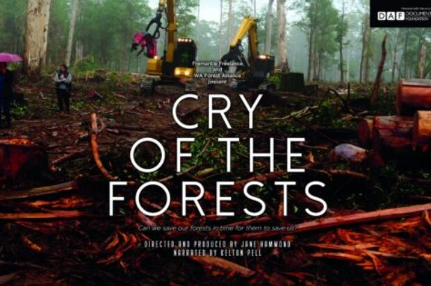 John Butler to star at event for WA's forests – showcasing acclaimed film Cry of the Forests.