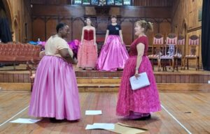 The Curators In Rehearsals  On The Next Production  The Revolutionists