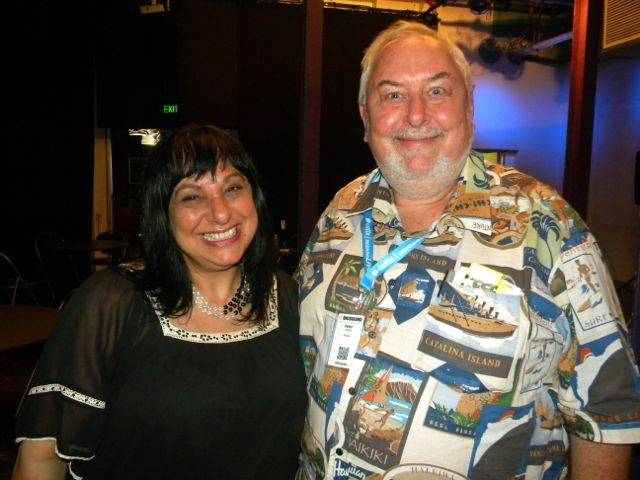 Caroline Russo and Peter Noble