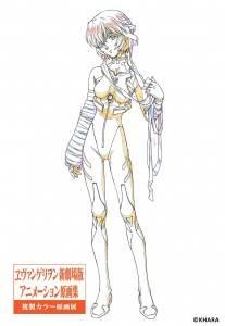 Evangelion original painting exhibition_Ayanami Rei copy