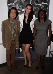 Raymond Cheng, Shirley Pierce, Lauren-Ann Smith