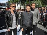 MUSE .. Dominic Howard; Matt Bellamy; Christopher WolstenholmeCredit pic to Dave M Benett./ Getty Image.