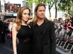 Angelina Jollie Brad Pitt credits DAVE M. BENETT/GETTY IMAGES