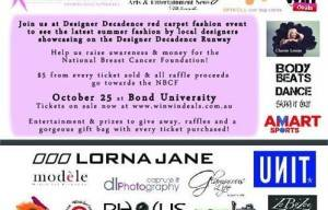 Designer Decadence Fashion  Show Supports Breast Cancer