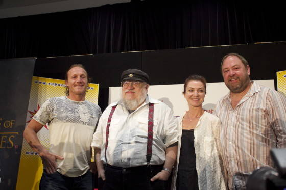 George R.R. Martin And Crew Come Together For SUPANOVA