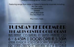 Robert Young Memorial Concert To Be Held Arts Centre GC