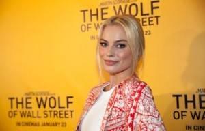 Margot Robbie at  Brisbane Premier :The Wolf of Wall St