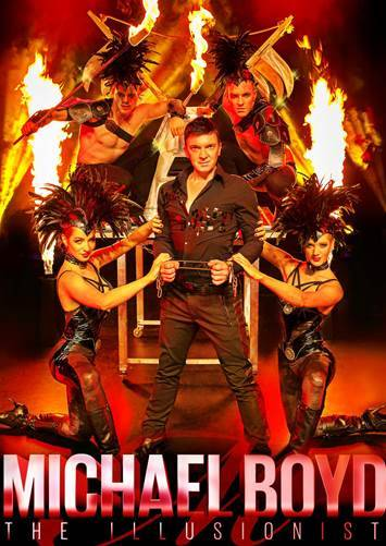 Michael Boyd brings Mystique to Sea World Resort Gold Coast