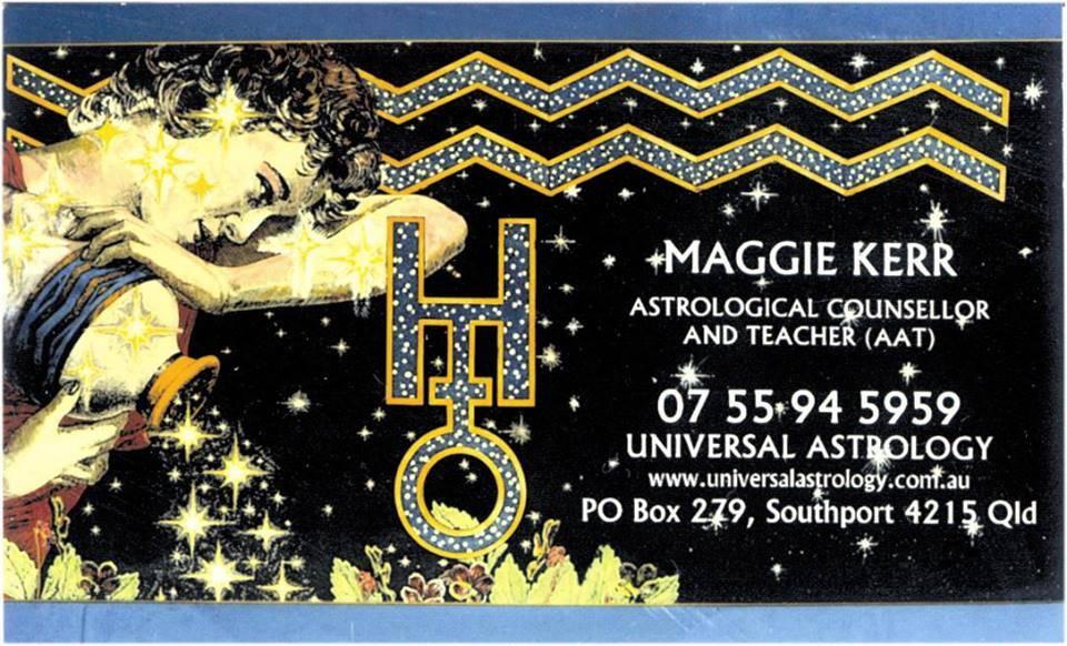 Universal Astrology : Maggie Kerr