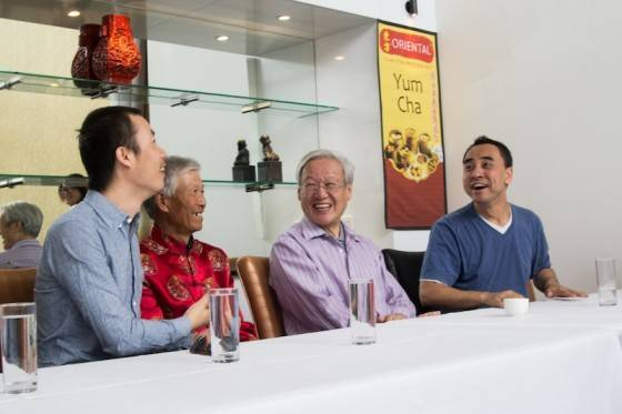 International Film Guests hosted by The Oriental Yum Cha.